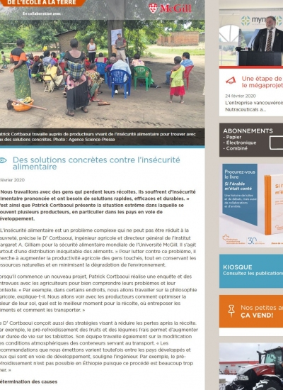 Vulnerability Assessment Province of South Kivu Democratic Republic of Congo